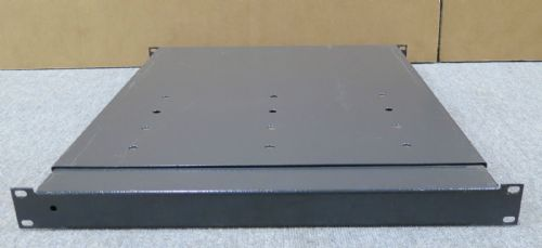 "1U 19"" Rackmount Shelf For Rack Server Networking Cabinets, UPS, Array"
